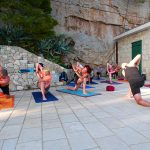 Yoga an der Makarska Riviera